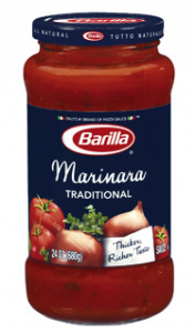 Barilla Pasta Sauce Coupon + Vons deal