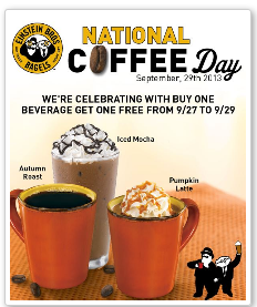 coffee FREEbies on National Coffee Day