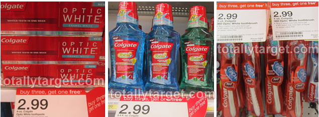 Colgate B3G1 FREE Sale at Target | Pay as low as $0.25 Each