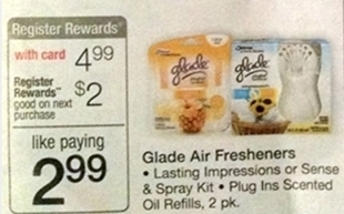 Upcoming Walgreens Deals = FREE Glade Sense & Spray, Cheap Kleenex, Cereal and Pop Tarts