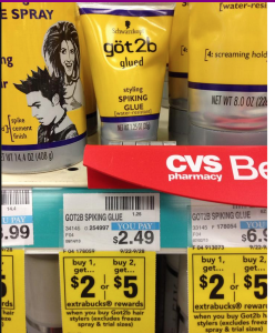 FREE got2b Spiking Glue Product at CVS (No Coupons Required)
