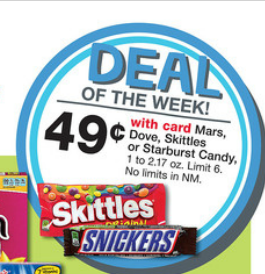 Mars Brand Candy Just 33¢ at Walgreens