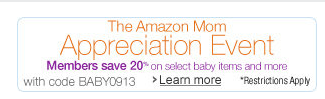 mom appreciation Amazon Mom Appreciation Event: 20% off Coupon Code