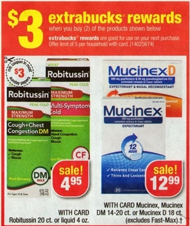 Robitussin Moneymaker Deal at CVS
