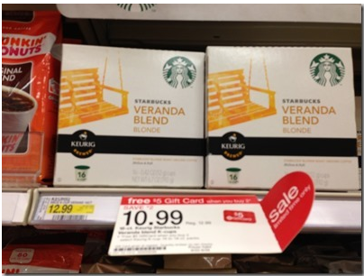 Target K-Cup Gift Card Deals | Pay as low as 41¢ Per Cup