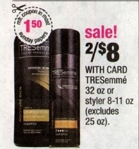 tressemme cvs CVS: Freebies, Cheapies and Moneymaker Deals