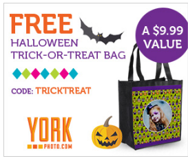 FREE Customized Tote (Great for Halloween, Groceries, Trips and More) + Shipping