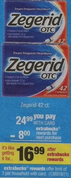 zegerid cvs New Zegerid Printable Coupons + Upcoming CVS Deal