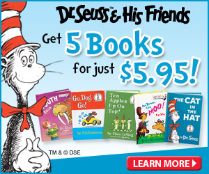 0311 brp 300x250 Five Dr. Suess Books For Just $5.95