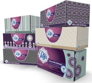 Amazon: Puffs Facial Tissues (124ct) $0.75 or Lower – Shipped!
