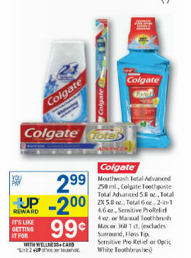 FREE Colgate Total Mouthwash at Dollar General and Rite Aid