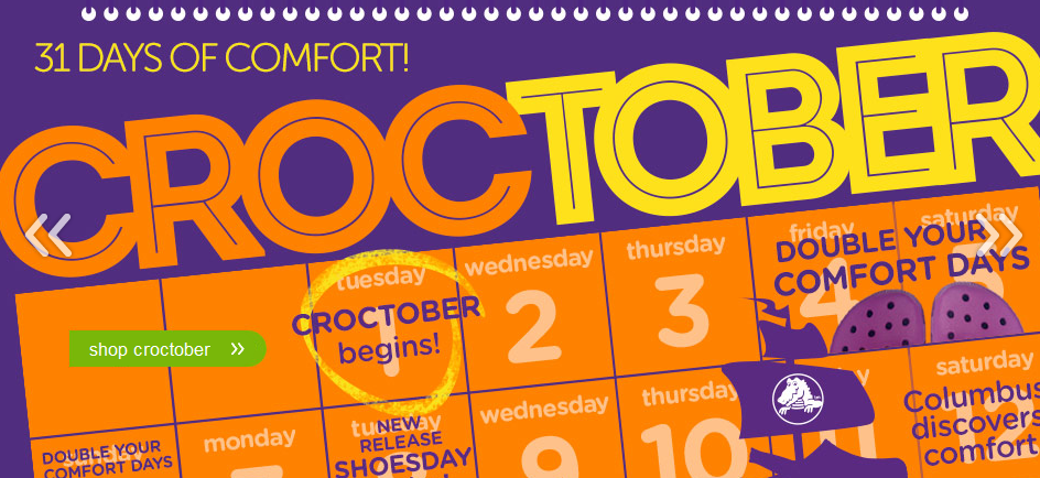 Crocs: Croctober 50% Off Sale for the Entire Family + FREE Shipping (Plus Other Deals)