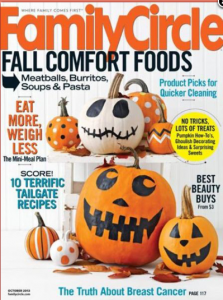 Family Circle Magazine Subscription for $4.50 (38¢ per issue)