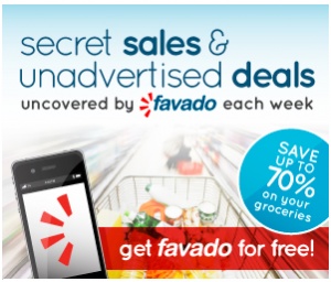FREE Favado App: Secret Sales & Unadvertised Deals Each Week