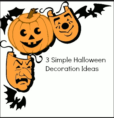 halloween simple decor 3 Simple Halloween Decoration Ideas