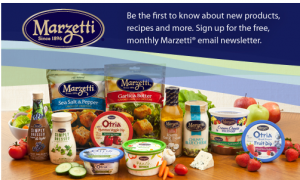 FREE Recipes, Tips, Coupons, and More With Marzetti Newsletter Signup