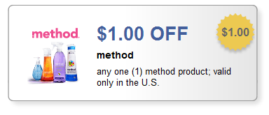 Method Product Printable Coupon + Rite Aid and Target Deals