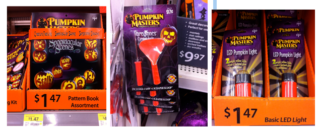 Pumpkin Masters Printable Coupon = 10¢ Carving Tools at Walmart (Plus FREE Pumpkin Patterns)