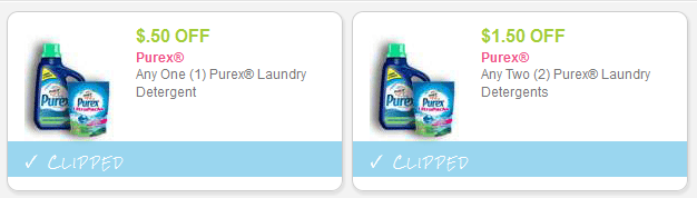 Purex Printable Coupons + Upcoming Deals at Rite Aid and Walgreens