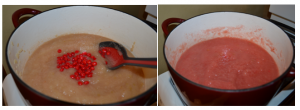 red hot sauce 300x110 How to Make Homemade Pink Applesauce