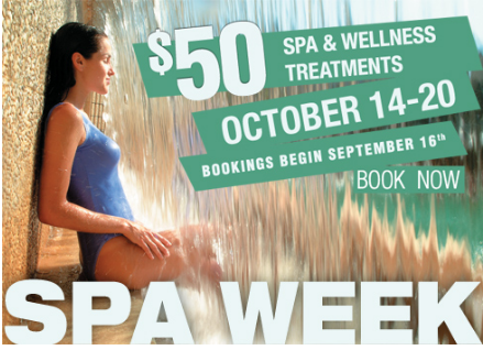 Celebrate Spa Week With A Spa and Wellness Treatment –  Book Now