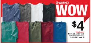 Men's C9 Active Shirts Just $2.76 at Target
