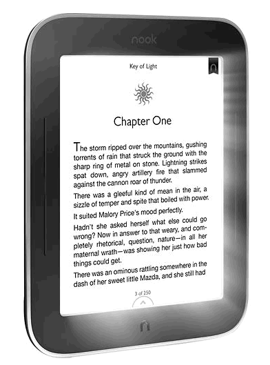 Barnes   Noble NOOK Simple Touch with GlowLight BNRV350   Best Buy