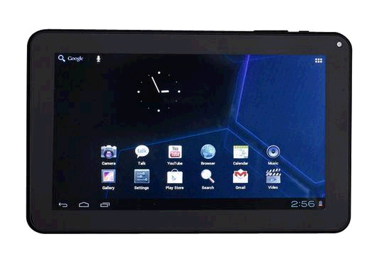 Double Power 9 inch Tablet with 8GB Memory GS 918 BLK   Best Buy
