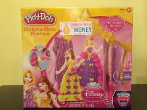 IMG 1292 300x225 Free Toy Giveaway #7: Play Doh Disney Princess Design A Dress Boutique Playset