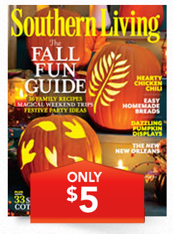 SLJUST5 $5 Southern Living Magazine Subscription!