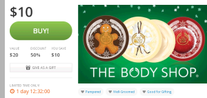 The Body Shop Deal of the Day   Groupon