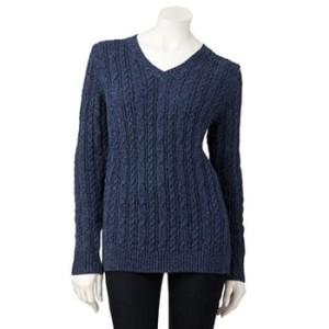 kohls cableknit 300x300 Extra 15% Off Sale Prices at Kohls (LOW PRICES!)