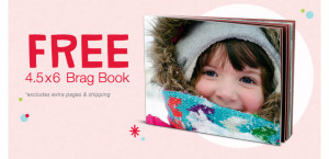 walgreens brag book 300x145 4.5x6 Custom Photo Brag Book Just $2.99 Shipped!