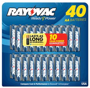 40 Rayovac