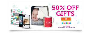 50 Off Photo Gifts