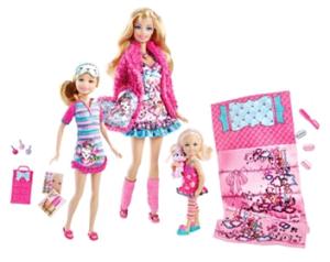 Barbie Slumber Party Play Set