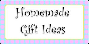 Cheap Homemade Gift Ideas