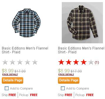 Flannel from Kmart.com