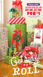 Hallmark Wrapping Paper BOGO 1