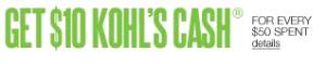 Use Kohl's Cash Online
