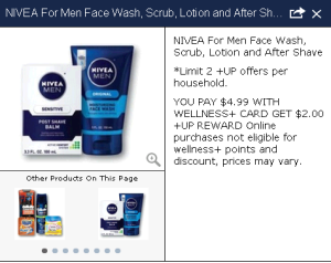 Nivea for Men Facial Care Products just $1.50 WYB 2!