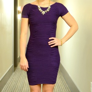 Ruched Jane Dress