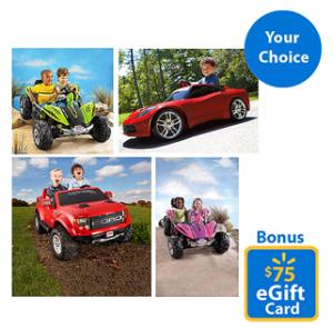 Walmart Powerwheels Bonus