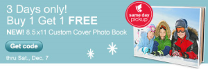 bogo photo books walgreens 300x100 BOGO Free Photo Books, Plus Same Day In Store Pickup!