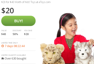 eToys.com Deal of the Day   Groupon