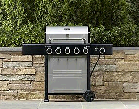 grill kmart Kenmore 5 Burner Gas Grill Plus Side Burner Just $149.97 (Was $299.99!)