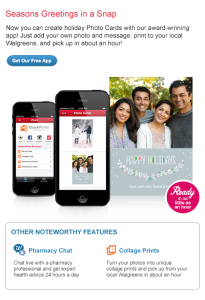 walgreens photo app holiday card dea