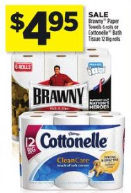 Brawny Dollar General Ad