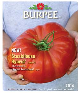 Burpee 2014 Catalog