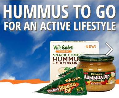 FREE Wild Garden Hummus Dip